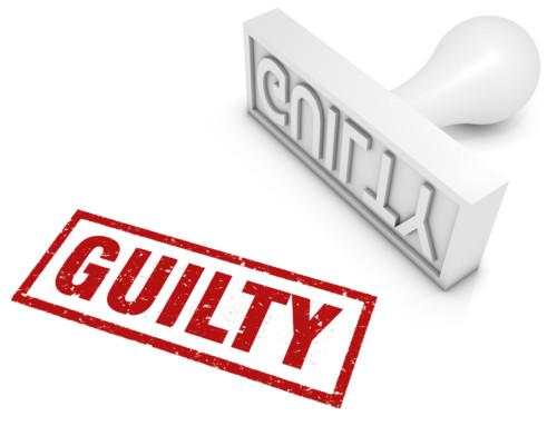 Top ten things people feel guilty about