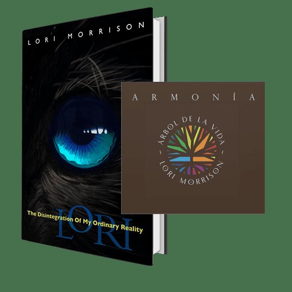 Lori Morrison - Lori's Story | The Disintegration of My Ordinary Reality & Tree of Life Harmony Meditation CD Bundle